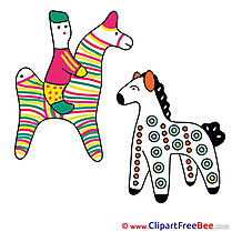 Soft Toys free Cliparts Horse