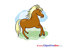 Stallion Cliparts Horse for free