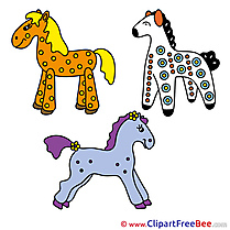 Toys Horse Clip Art for free