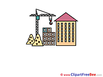 Building Crane free Cliparts for download