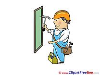 Carpenter Clip Art download for free