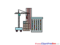 Construction Building download printable Illustrations