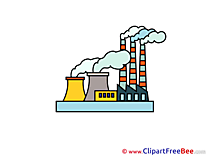 Nuclear Power Plant free Illustration download