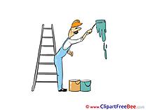 Painter Ladder free Illustration download