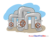 Piping Valves Clipart free Illustrations