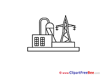 Power Station Clipart free Image download