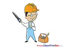 Worker Tools Saw Images download free Cliparts