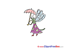 Dragonfly Umbrella Pics printable Cliparts