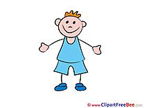Boy printable Kindergarten Images