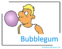 Bublegum Clipart Image free - Kindergarten Clipart Images for free