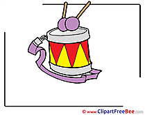 Drum download Kindergarten Illustrations