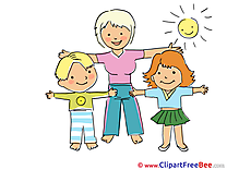 Exercises Cliparts Kindergarten for free