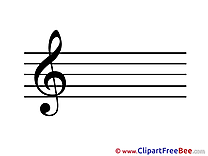 Note Music Kindergarten download Illustration