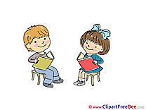 Reading Books Kindergarten free Images download