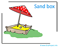 Sand Box Clipart Image free - Kindergarten Clipart Images for free
