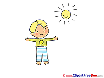 Sun Exercise Pics Kindergarten free Cliparts