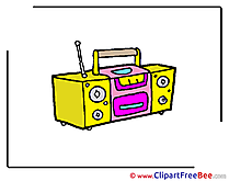 Tape Player free Cliparts Kindergarten