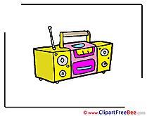 Tape Player free Cliparts Kindergarten