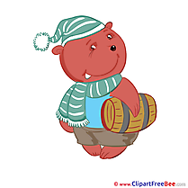 Teddy Bear Barrel Clip Art download Kindergarten