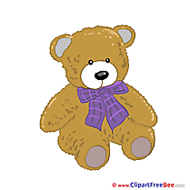Teddy Bear download Kindergarten Illustrations
