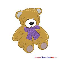 Teddy Bear download Kindergarten Illustrations