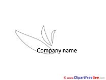 Brand printable Illustrations Logo