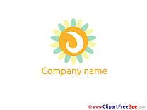 Sun Logo download Illustration