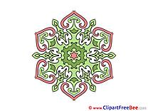 Clip Art download Mandala