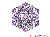 Clipart Mandala Illustrations