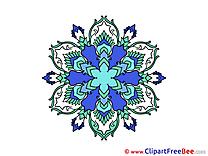 Cliparts Mandala for free