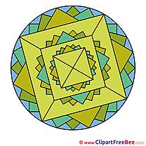 Indian Symbol free Cliparts Mandala
