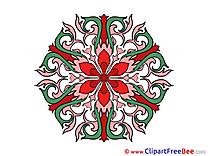 Mandala Illustrations for free