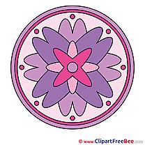 Symbol Clipart Mandala Illustrations
