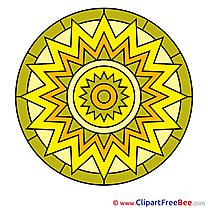 Symbol free Illustration Mandala