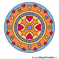 Universe free Illustration Mandala