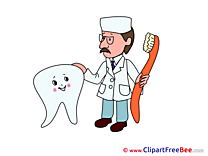 Dentist Tooth printable Images for download