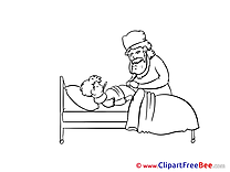 Hospital Ward Clip Art download for free
