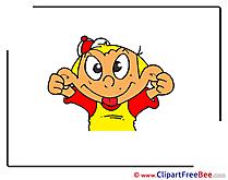 Kid Boy download printable Illustrations