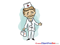 Man Doctor Pics printable Cliparts