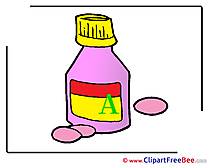 Medicament Clip Art download for free