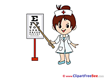 Oculist Girl Images download free Cliparts
