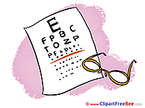 Ophthalmology Glass free Illustration download