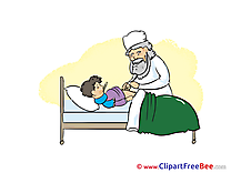 Patient Doctor Pics download Illustration