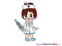 Thermometer Nurse free Illustration download