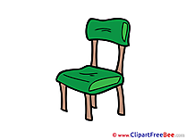 Chair free printable Cliparts and Images