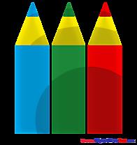 Pencils Clipart free Illustrations