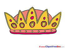Queen's Crown Clip Art download for free