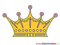 Queen's Crown download printable Illustrations