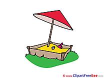 Sandbox printable Illustrations for free