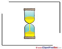Sandglass Clipart free Illustrations